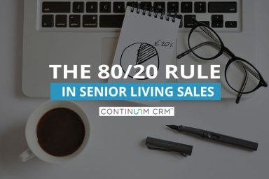 Sales and the Pareto Principle