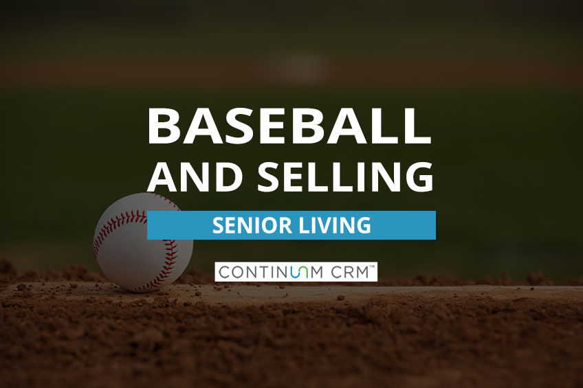 Baseball and Senior Living Sales