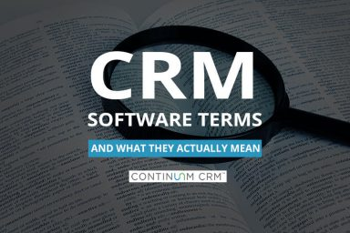 CRM Software Terms and Definitions