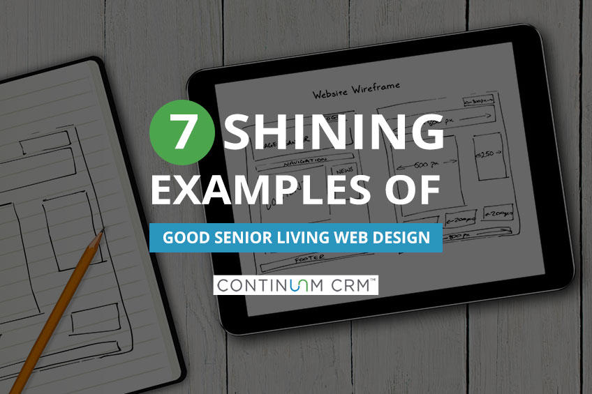 Good Senior Living Web Design Examples