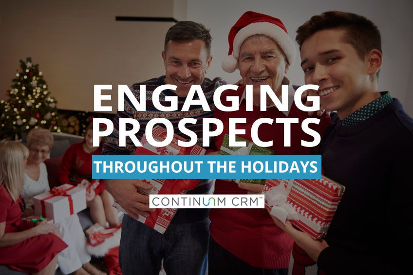 Engaging Senior Living Prospects During the Holidays