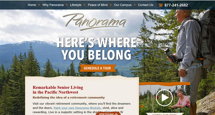 Panorama Retirement Community Lacey, WA