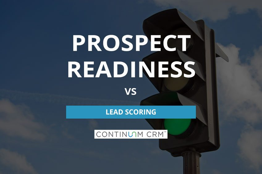Prospect Readiness vs Lead Scoring