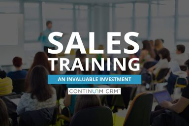 Sales Training - An Invaluable Investment