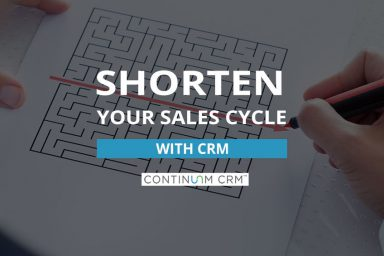 Shorter Sales Cycles with CRM