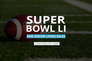 Senior Living Sales and Super Bowl 51