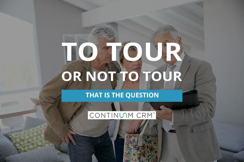 Touring vs Visiting Senior Living Communities