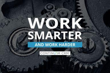Work Smarter...Not Harder. Or not.